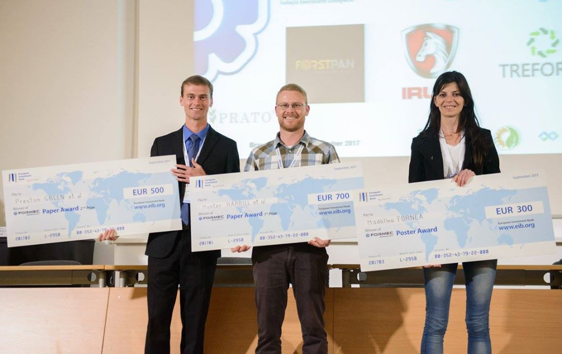 Winners of the Best Paper and Poster Awards (FORMEC 2017, Brașov)